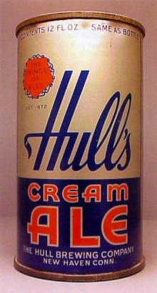 Hulls Cream Ale Beer Can
