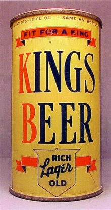 Kings Beer Can