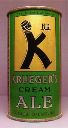 Kruegers Cream Ale Beer Can