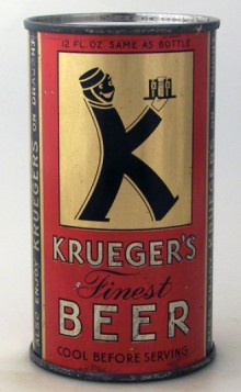 Krueger's Finest Beer Can
