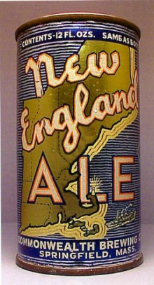 New England Ale Beer Can