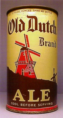 Old Dutch Brand Ale Beer Can