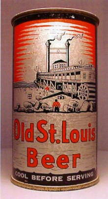 Old St. Louis Beer Can