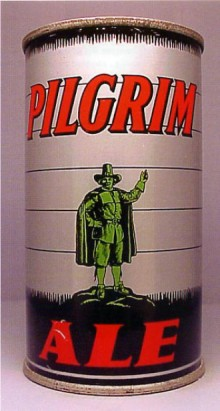 Pilgrim ale Beer Can