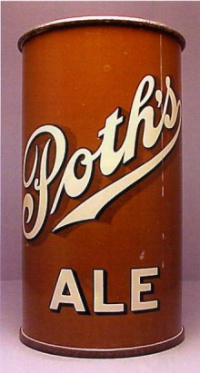 Poths Ale Beer Can