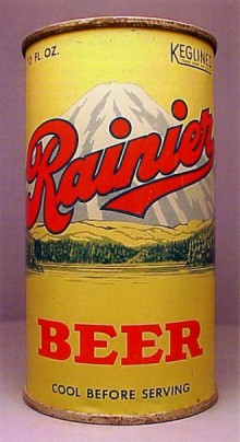Rainier Beer Can