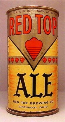 Red Top Ale Beer Can