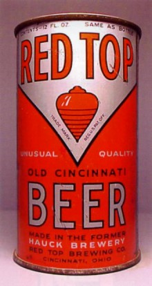Red Top Old Cincinnati Beer Can