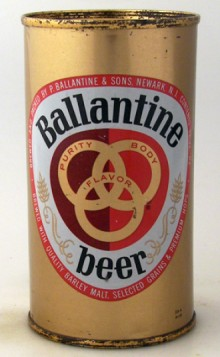 Ballantine Beer Can