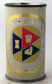 Bavarian's Select Beer Can