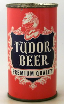 Tudor Premium Quality Beer Can