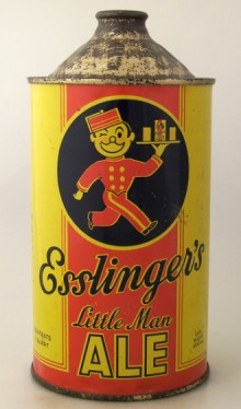 Esslinger's Little Man Beer Can