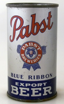 Pabst Blue Ribbon Export Beer Can