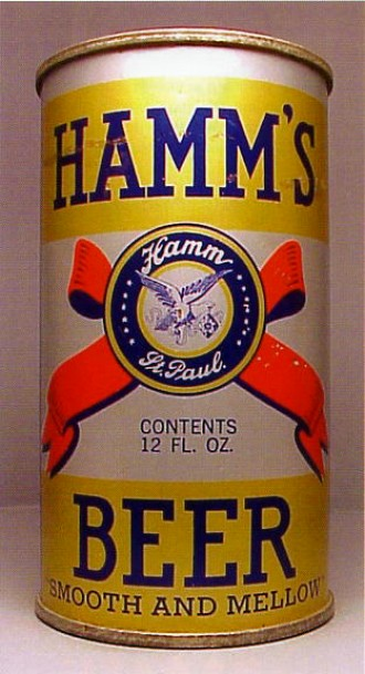 hamms beer can from theo  hamm brewing co